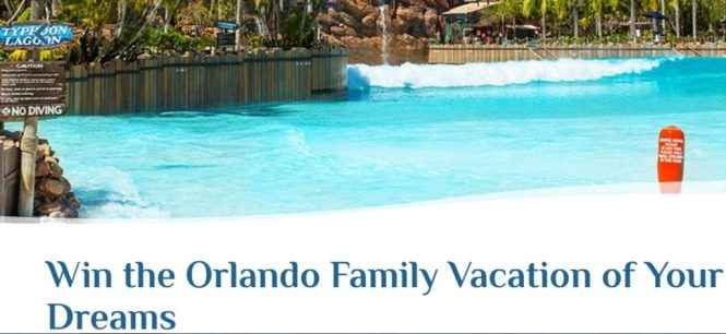 Visit Orlando Escape To Orlando Sweepstakes
