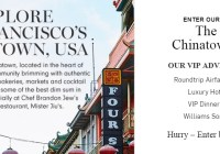 Williams Sonoma Chinatown Adventure Sweepstakes