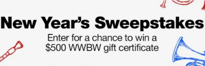 Woodwind And Brasswind New Year Sweepstakes