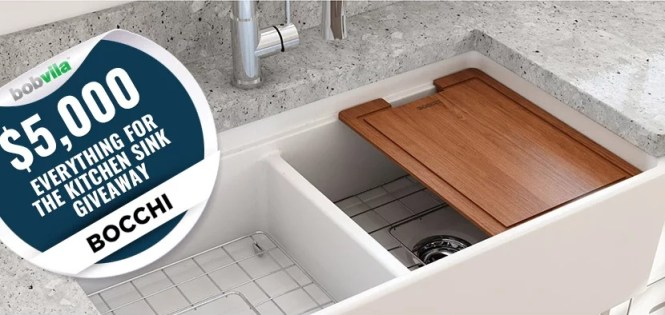 Bob Vila Everything For The Kitchen Sink Giveaway