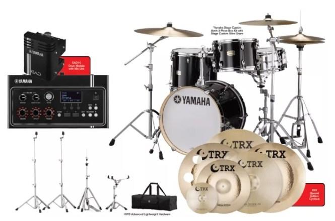DRUM Magazine Yamaha And TRX Giveaway
