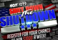 Government Shutdown And Win Giveaway