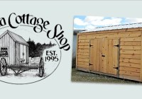 Jamaica Cottage Shop 8x10 New Yorker Shed Giveaway