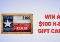 KIII TV HEB Gift Card Giveaway