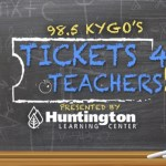 KYGO Tickets For Teachers Giveaway