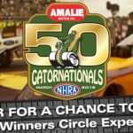 NHRA And WCJB Winners Circle Experience Promotion