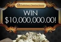 PCH One Million Money Drop Giveaway