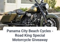 Panama City Beach Cycles Road King Special Motorcycle Giveaway