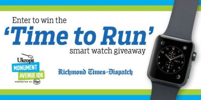 Richmond Times Dispatch Time To Run Smart Watch Giveaway