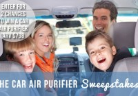 Ron And Lisa Car Air Purifier Sweepstakes