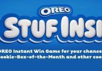 Supervalu Oreo Stuf Inside Instant Win Game