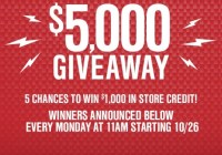 Turn 5, Inc. American Muscle $5,000 Holiday Giveaway
