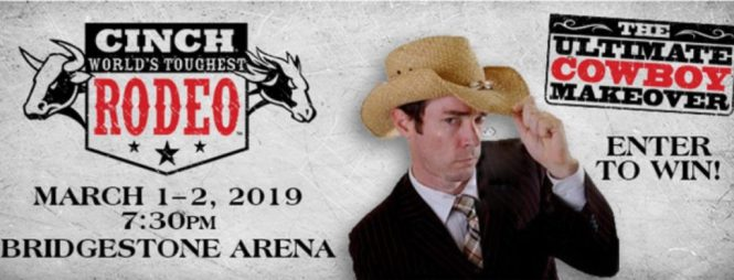 WKRN Cinch Worlds Toughest Rodeo Contest