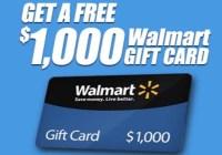 Walmart February-April Sweepstakes