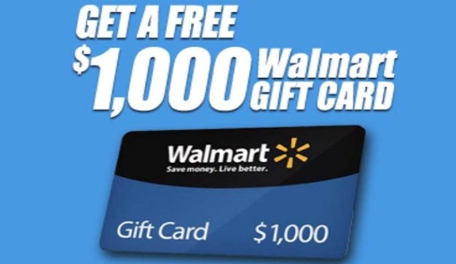 Walmart February-April Sweepstakes