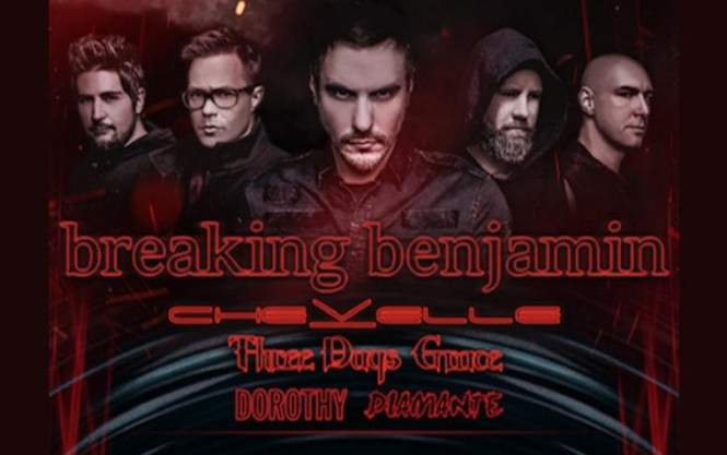 XL 102 Richmond Breaking Benjamin On-Air Contest