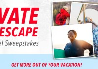 AARP Elevate Your Escape $5,000 Travel Sweepstakes