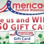 American Furniture Warehouse Sweepstakes