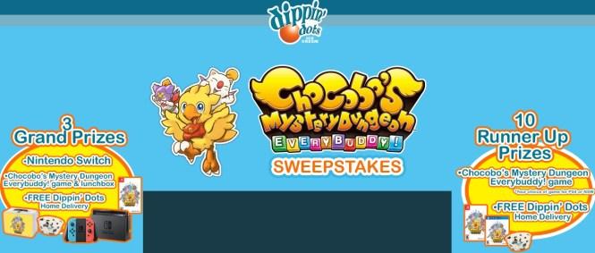 Chocobo Mystery Dungeon Everybuddy Sweepstakes