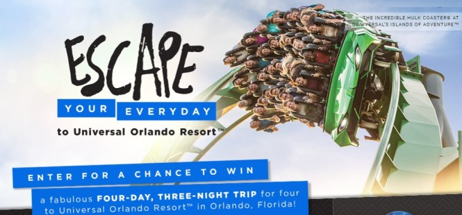 HGTV Escape Your Everyday Sweepstakes- Win A Trip Prize