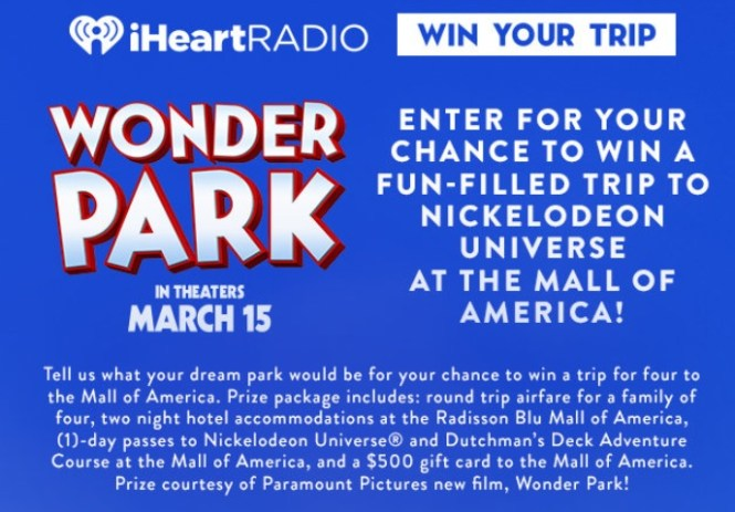 Mall Of America Sweepstakes