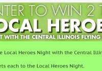 Pantagraph Local Heroes Night Contest