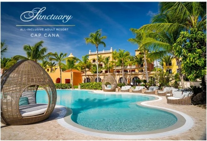 Rhoback Sanctuary Cap Cana Sweepstakes