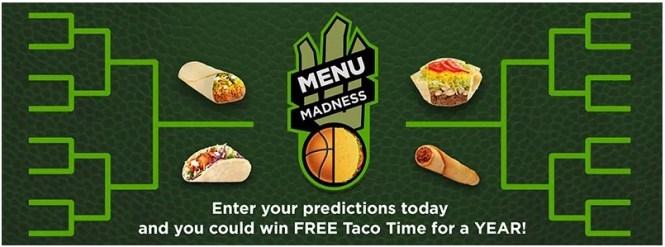 Taco Time NW Menu Madness Contest