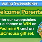 The ABCmouse Spring Sweepstakes