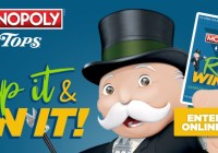 Tops Monopoly 2019 Instant Win Game Sweepstakes