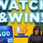 CBS 6 This Morning Watch And Win Giveaway