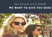 Just Because We re Friends Sweepstakes