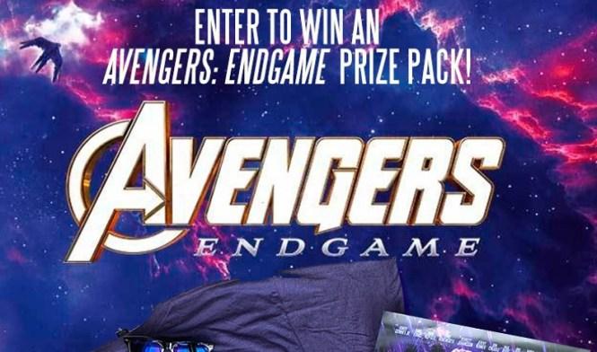 Marvel Avengers Endgame Sweepstakes