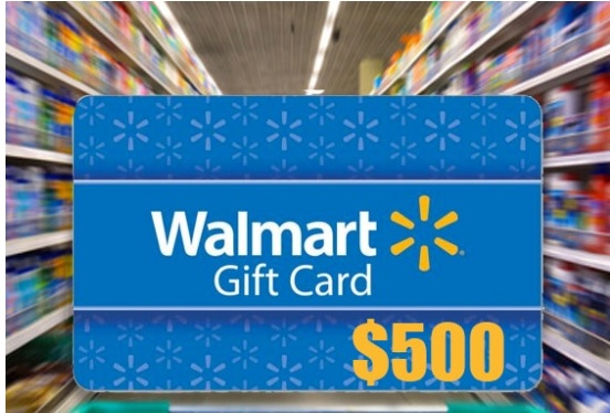 500 Walmart Gift Card Sweepstakes Enter To Win 500 Gift Card Giveawaynsweepstakes