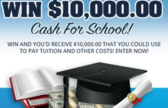 Cash for School Giveaway No. 13549