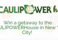 Caulipower Nyc Getaway Sweepstakes