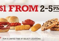 Celebrate Happy Hour With Arby's Contest