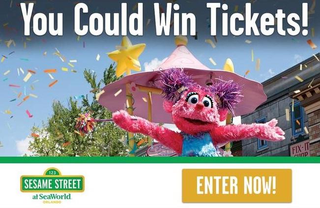 Click Orlando Sesame Street Contest