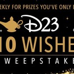 D23 10 Wishes Sweepstakes