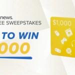 DealNews $1,000 Shopping Spree Sweepstakes