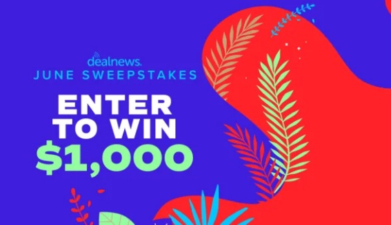 DealNews $1000 Sweepstakes