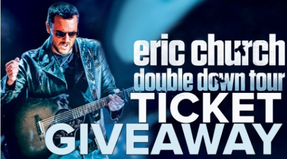 Eric Church Concert Ticket Sweepstakes