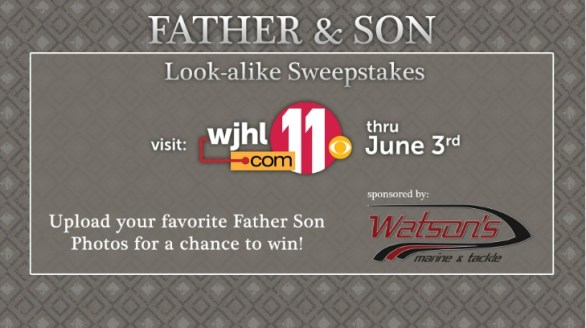 Father Son Look Alike Sweepstakes