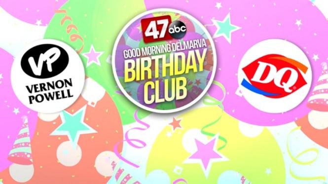 Good Morning Delmarva Birthday Club Contest