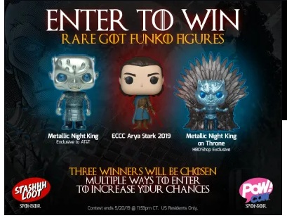 Got Funko Pop Toy Giveaway
