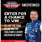 JTG Daugherty Racing Personal Pit Stop Sweepstakes