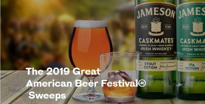 Jameson Great American Beer Festival Sweepstakes