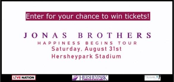 Live Naton Jonas Brothers Concert Ticket Giveaway