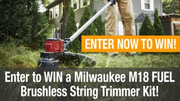 Milwaukee M18 Brushless String Trimmer Kit Giveaway
