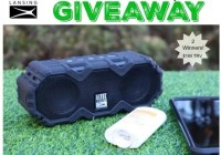 Mini LifeJacket Jolt Speaker Giveaway